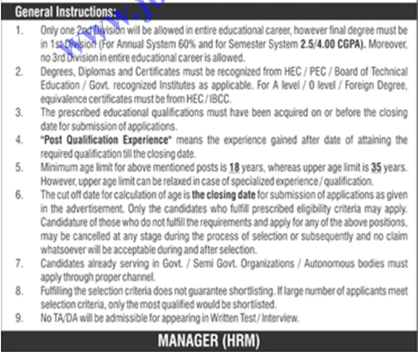 Latest Jobs in PAEC 2021 Application Form Advertisement