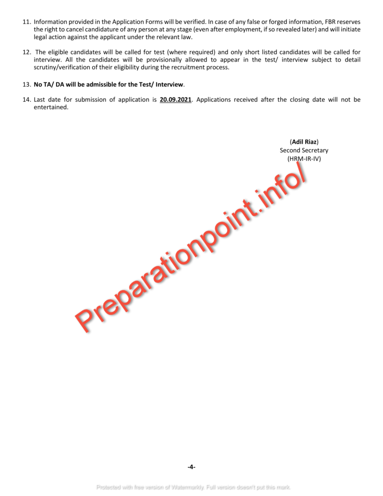 910+ FBR Jobs 2021 application form online apply - www fbr gov pk jobs 2021 online apply
