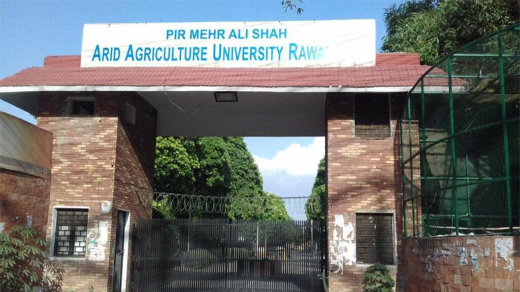 Arid Agriculture University Admission 2021