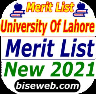 UOL Merit list 2021 [PDF]